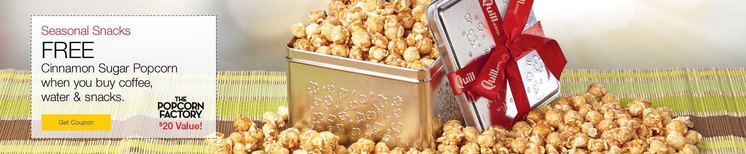 Seasonal Snacks from The Popcorn Factory®