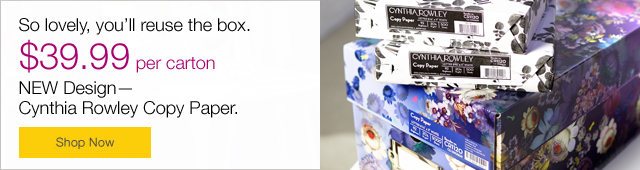 Cynthia Rowley® Product Launch/Campaign—Email Footer