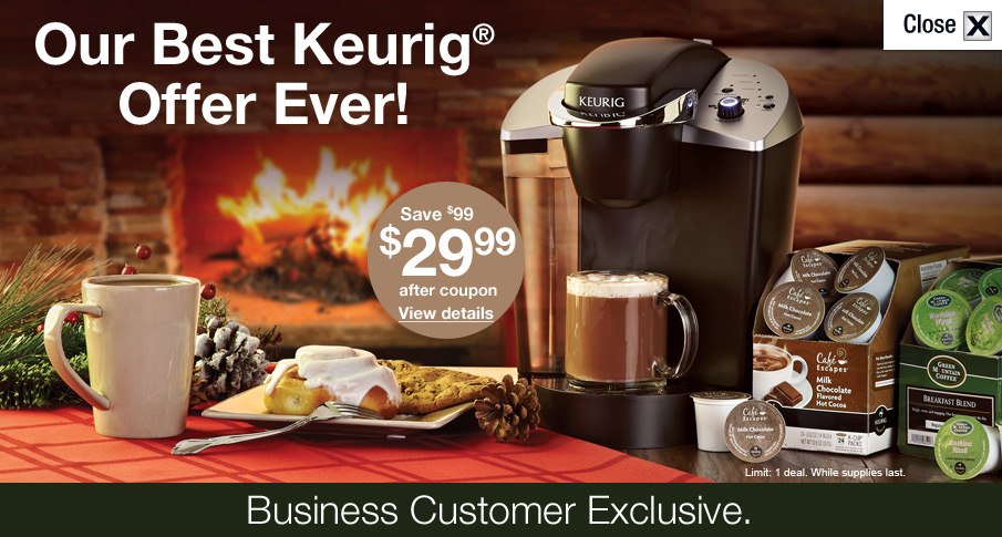 December Keurig® promotion