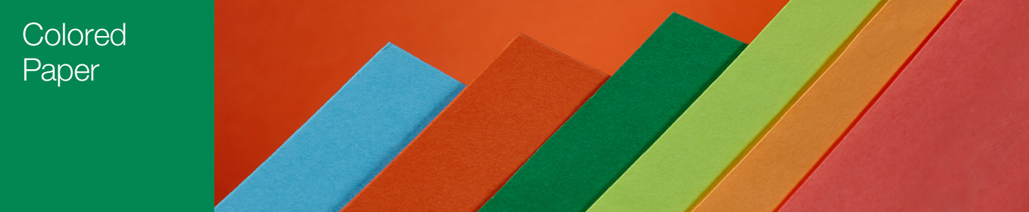 Colored Paper product page