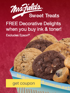 2015 Free Mrs. Fields® Sweet Treat with purchase campaign—July Ad
