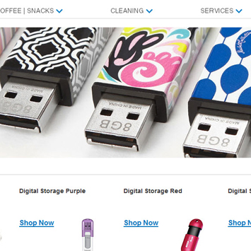USB product page.